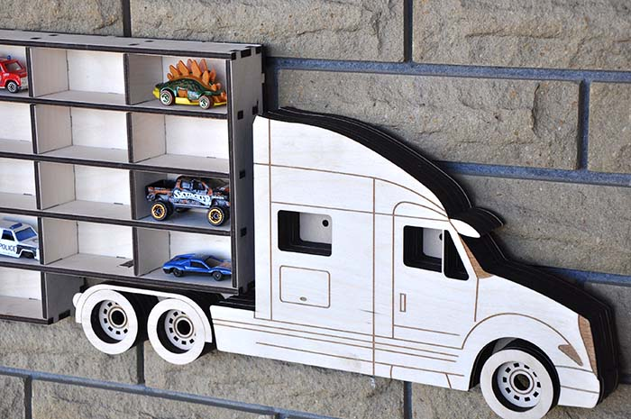 Toy Storage Wall Decor Hot Wheels #toystorage #walldecor #decorhomeideas