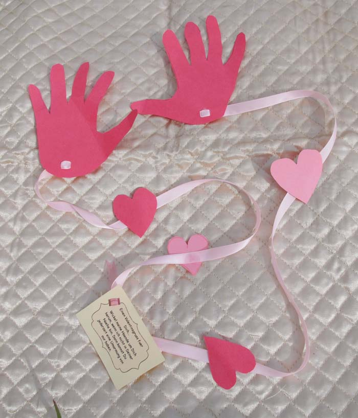 A Long Distance Hug #valentine #crafts #kids #decorhomeideas