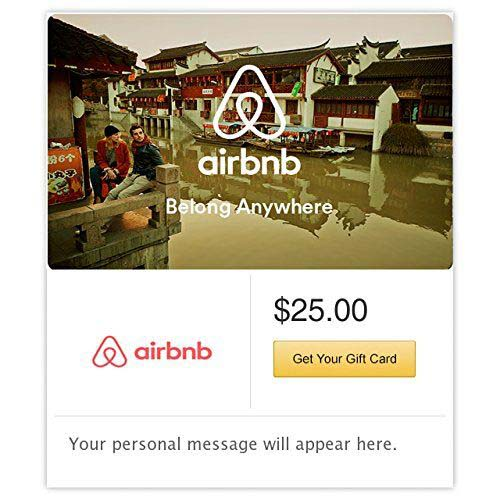 Airbnb E-Gift Card #valentine #gifts #girl #woman #decorhomeideas