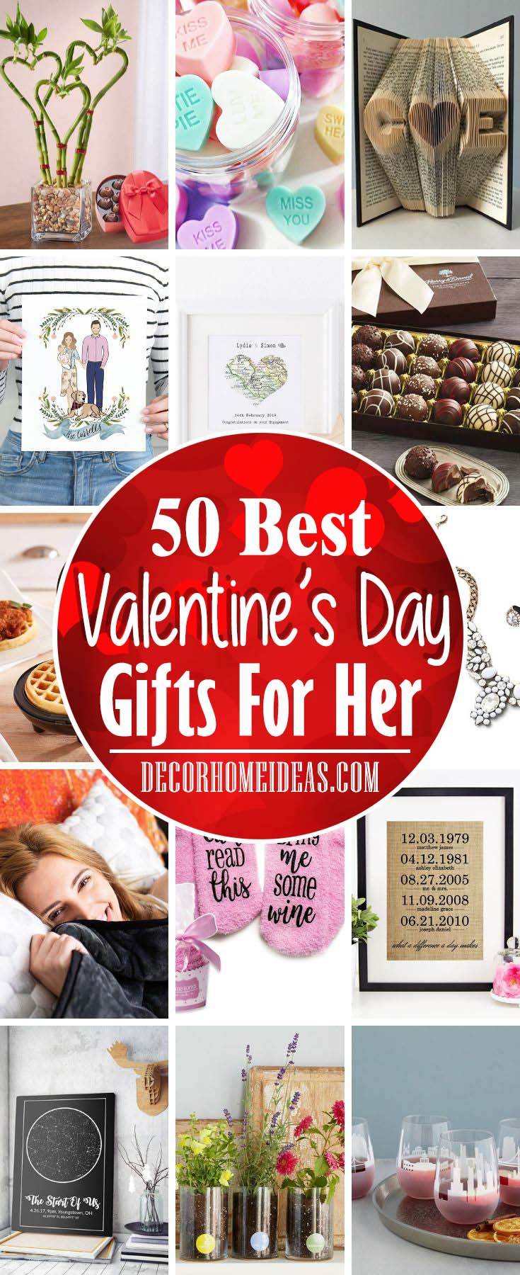 Best Valentines Day Gifts For Her #valentine #gifts #woman #girl #decorhomeideas