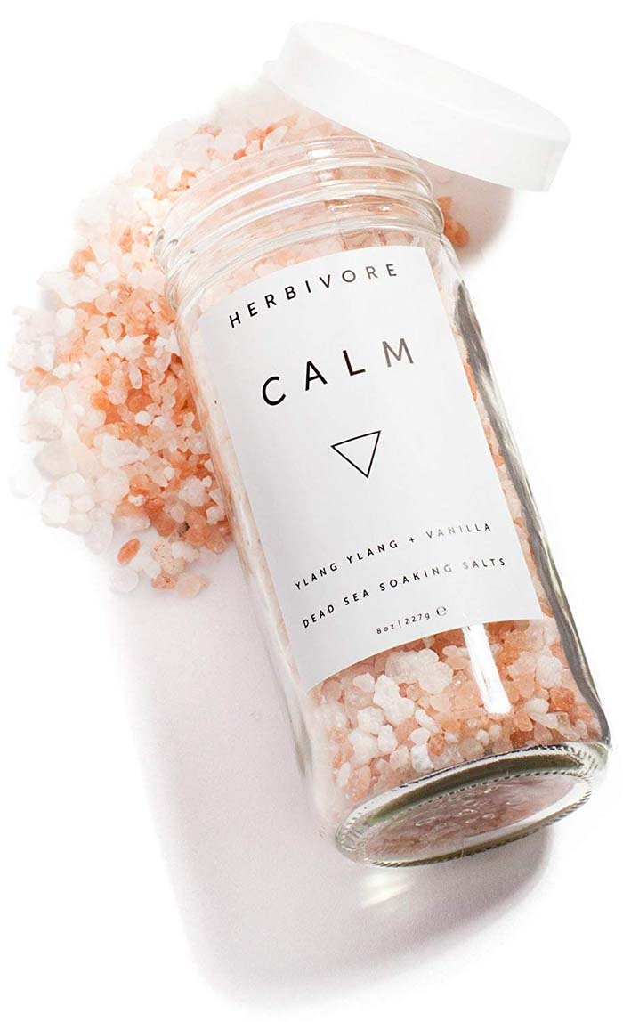 Calm Soaking Salts #valentine #gifts #girl #woman #decorhomeideas