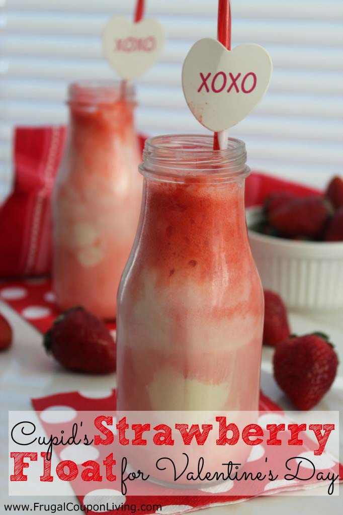 Cupid Strawberry Float #valentine #crafts #kids #decorhomeideas