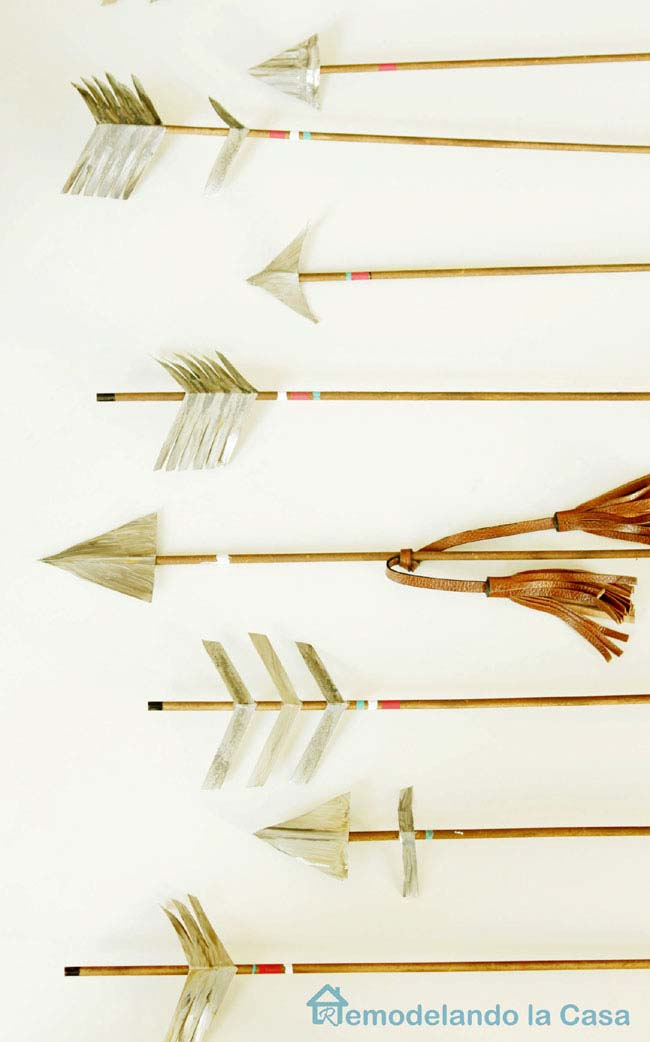 DIY Rustic Arrows #valentinesday #rustic #decor #diy #decorhomeideas