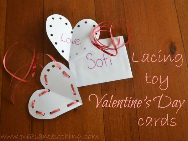 Easy Sewing Valentines Card #valentine #crafts #kids #decorhomeideas