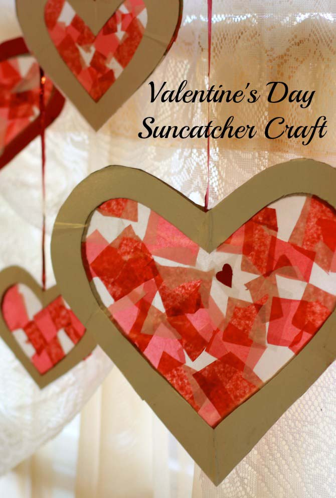 Easy Valentines Day Craft For Kids #valentine #crafts #kids #decorhomeideas