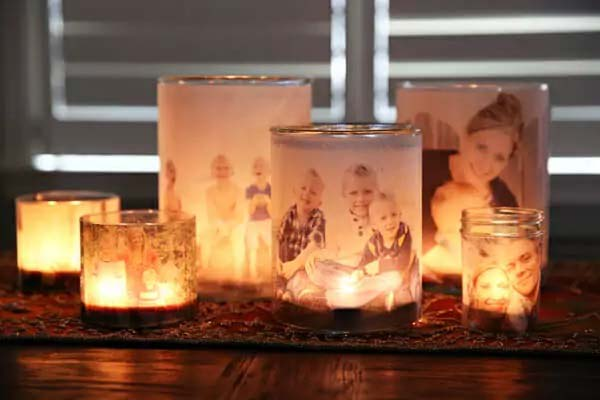 Glowing Family Luminaries #valentinesday #gifts #diy #decorhomeideas