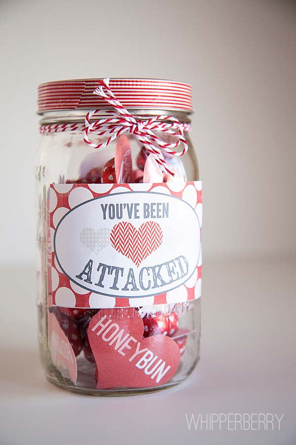 Heart Attack Valentines Day #valentinesday #crafts #jars #gifts #decorhomeideas