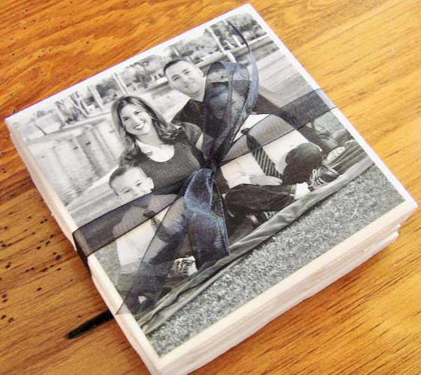 How to Make Photo Coasters #valentinesday #gifts #diy #decorhomeideas