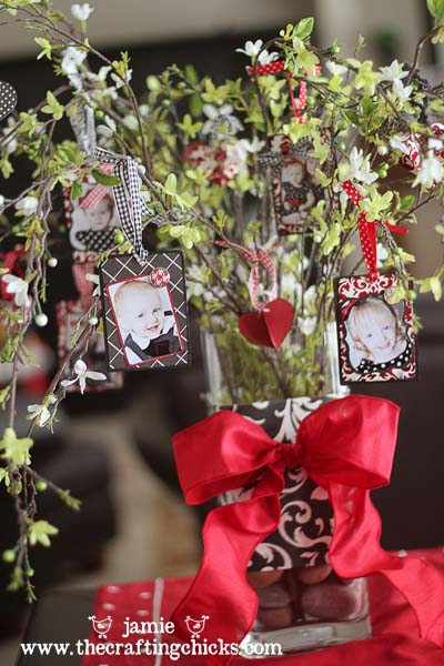 Love Tree Centerpiece #valentine #dollarstore #diy #decor #decorhomeideas