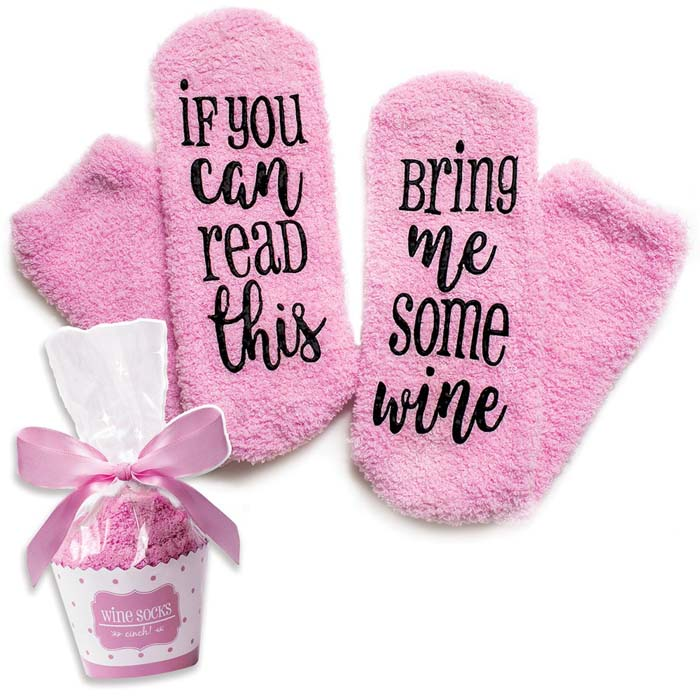 Luxury Wine Socks #valentine #gifts #girl #woman #decorhomeideas