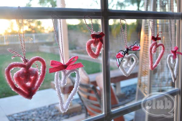 Making Borax Crystal Hearts #valentine #crafts #kids #decorhomeideas