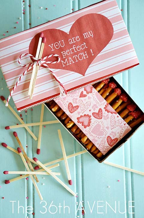My Perfect Match Valentines #valentine #crafts #kids #decorhomeideas