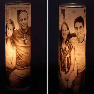 Photo Candle Holders #valentinesday #gifts #diy #decorhomeideas
