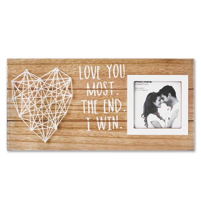 Romantic Wooden Picture Frame #valentine #gifts #girl #woman #decorhomeideas