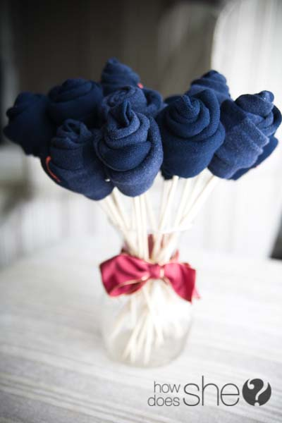 Sock Bouquet #valentinesday #gifts #diy #decorhomeideas