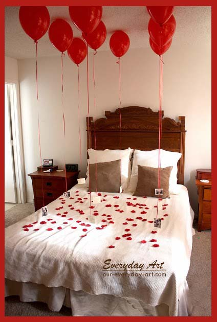 Valentines Day Balloon Display #valentinesday #gifts #diy #decorhomeideas