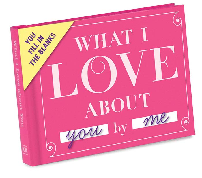 What I Love About You Journal #valentine #gifts #girl #woman #decorhomeideas