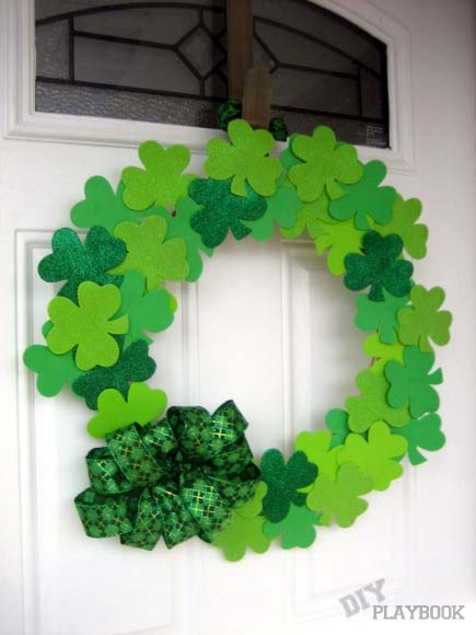A Dollar Store Challenge #stpatrick #diy #decor #decorations #decorhomeideas