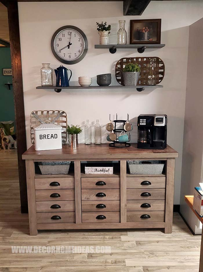 Coffee Station Ideas For Home #coffee #station #diy #decorhomeideas