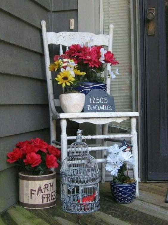 Antique Farmhouse Decor #easter #diy #porch #decor #decorhomeideas