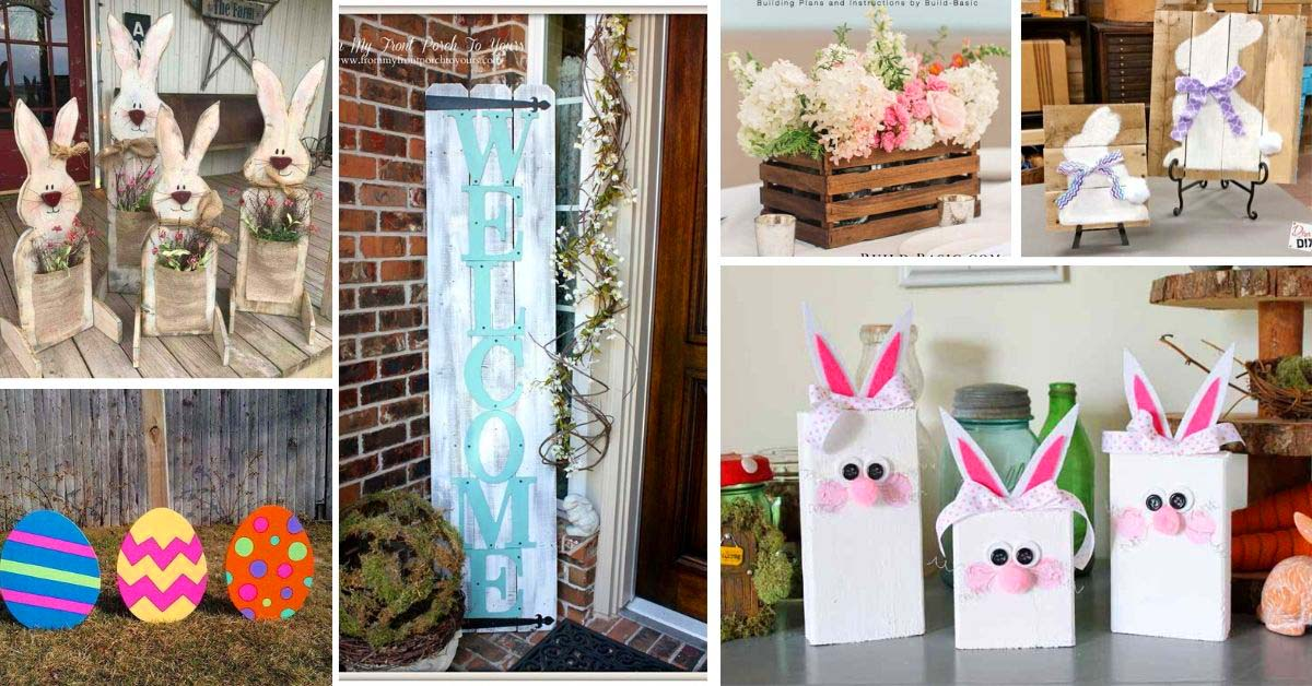 Best DIY Easter Crafts With Wood
