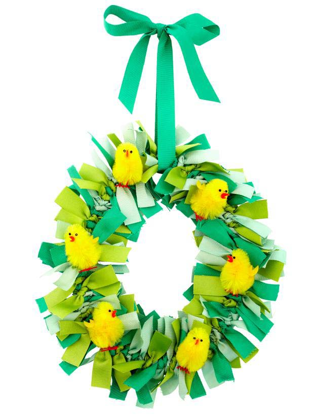 Chick Wreath Idea #easter #diy #cheap #decor #decorhomeideas