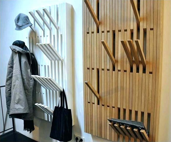 Coat And Hat Rack Collapsable Piano #hatrack #diy #organizer #decorhomeideas