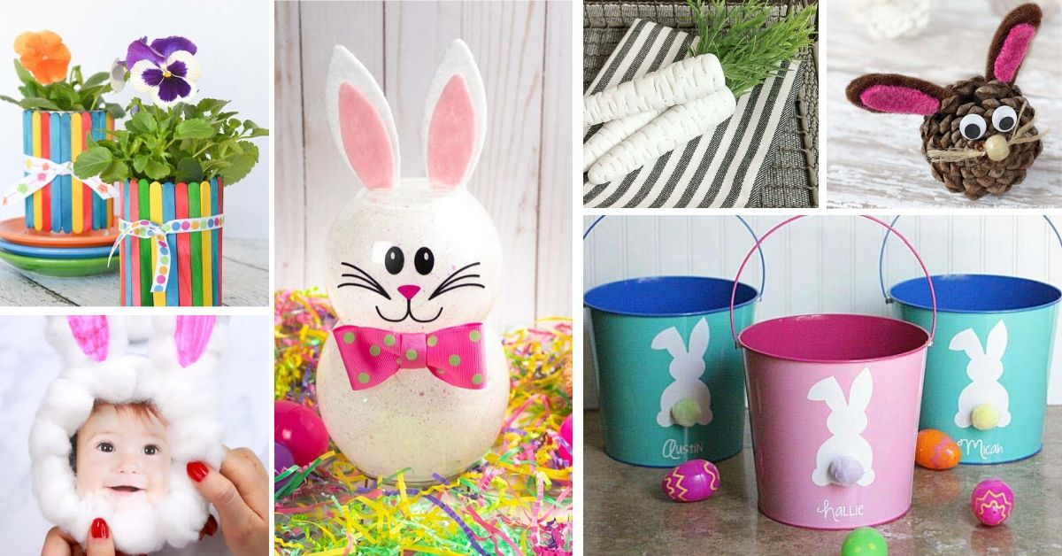 Dollar Store Easter Crafts