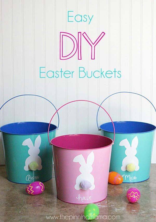 Easter Bunny Cut File #easter #diy #dollarstore #crafts #decorhomeideas