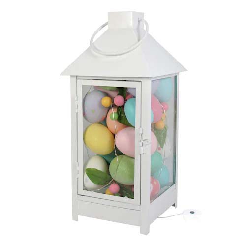 Easter Egg Lantern #easter #diy #cheap #decor #decorhomeideas