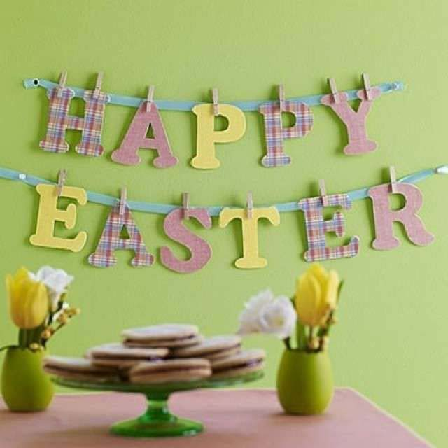 Easter Sign #easter #diy #cheap #decor #decorhomeideas