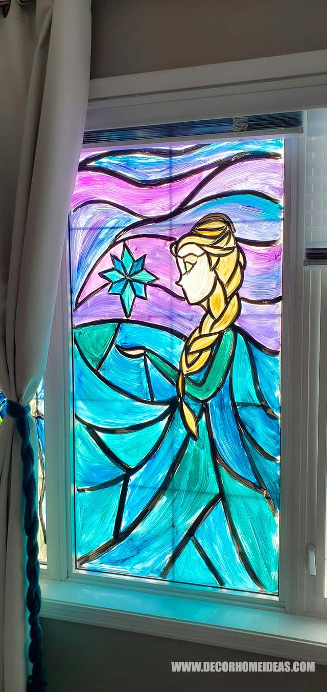 Easy Diy Stained Glass Windows 2