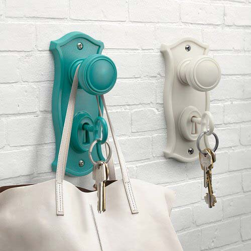 Key Holder and Hook Bag Hanger #hatrack #diy #organizer #decorhomeideas