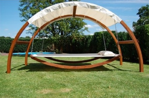 Swing Bed With Canopy 1