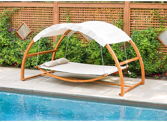 Swing Bed With Canopy 2