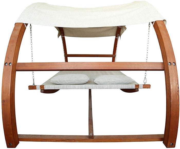 Swing Bed With Canopy 3