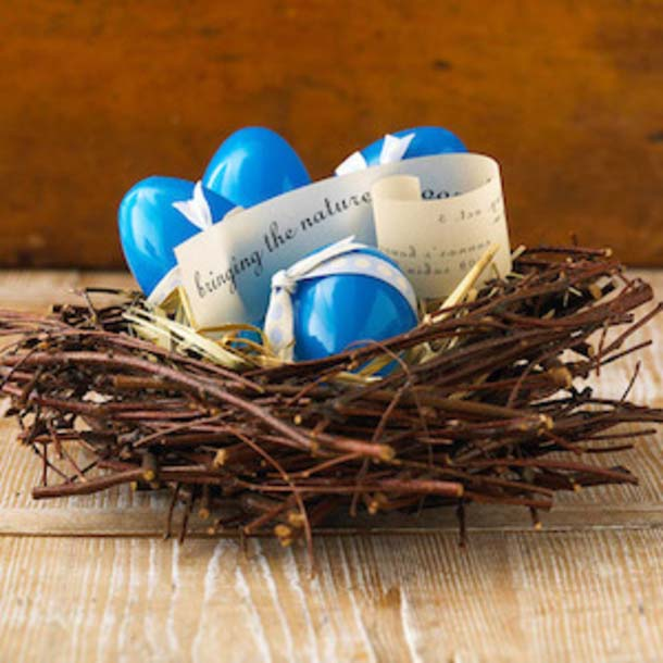Twig Nest #easter #diy #cheap #decor #decorhomeideas