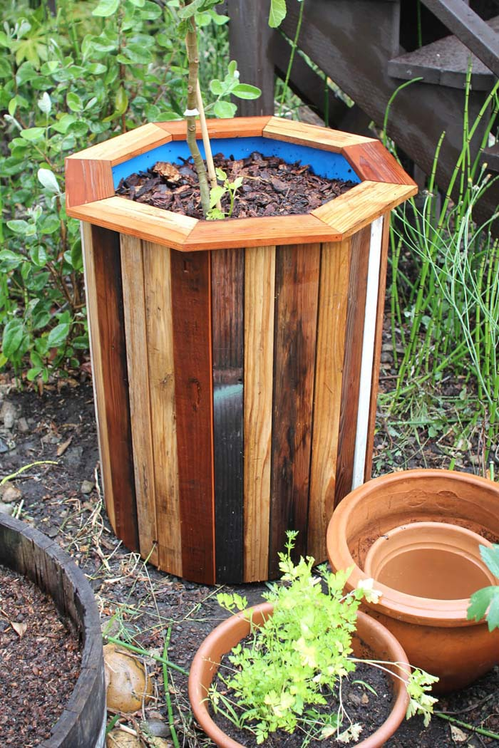 DIY Octagonal Garden Planter Project #diy #planter #wood #flower #pallet #decorhomeideas