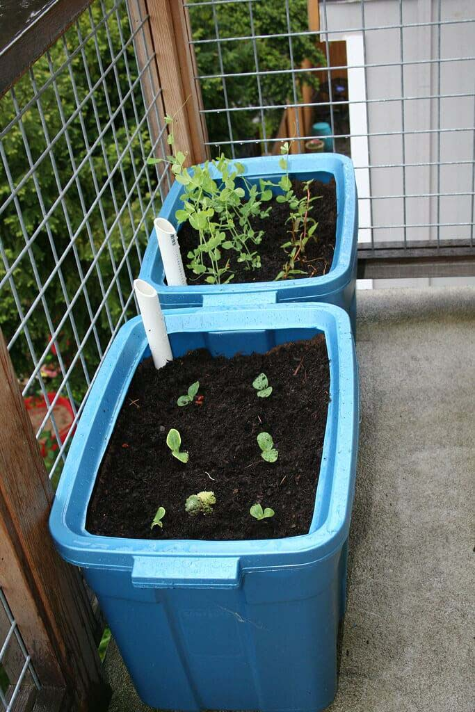Apartment-Style Garden Bed #raisedbed #garden #diy #cheap #decorhomeideas