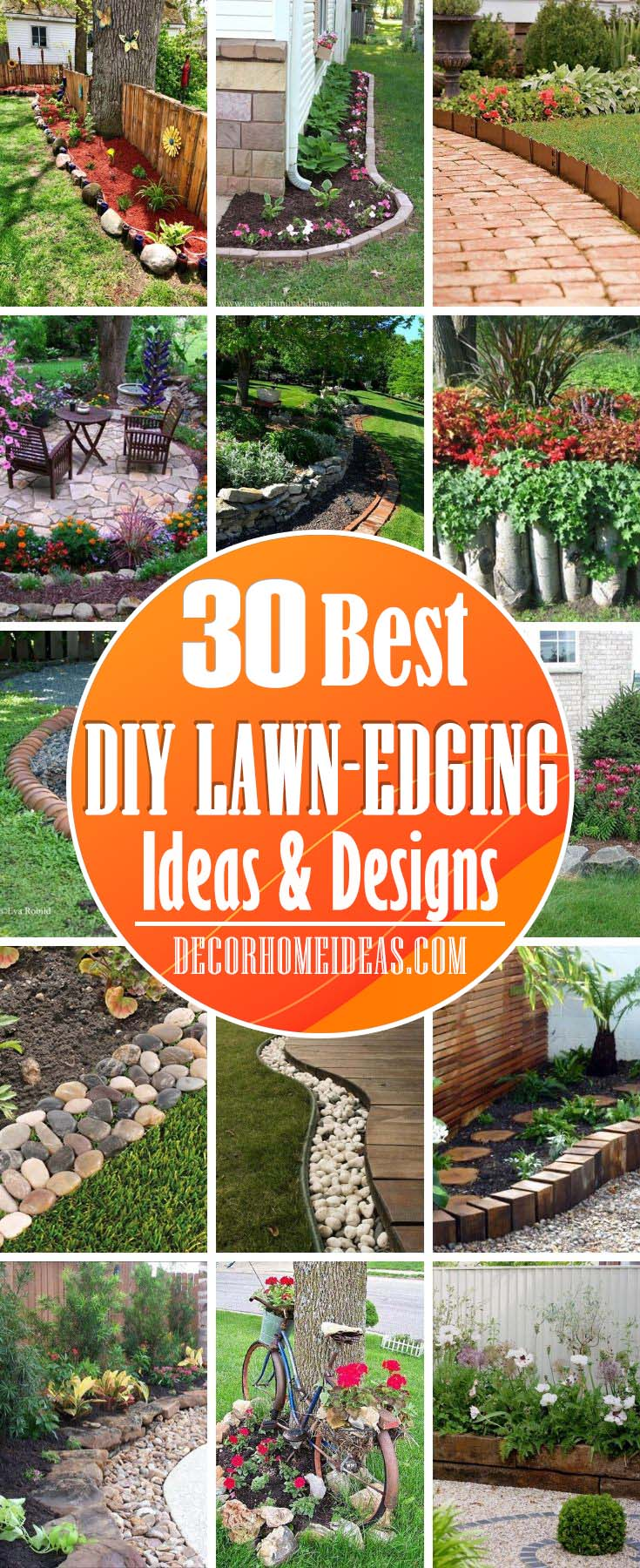25 Amazing Lawn Edging Ideas For Your Garden Decor Home Ideas