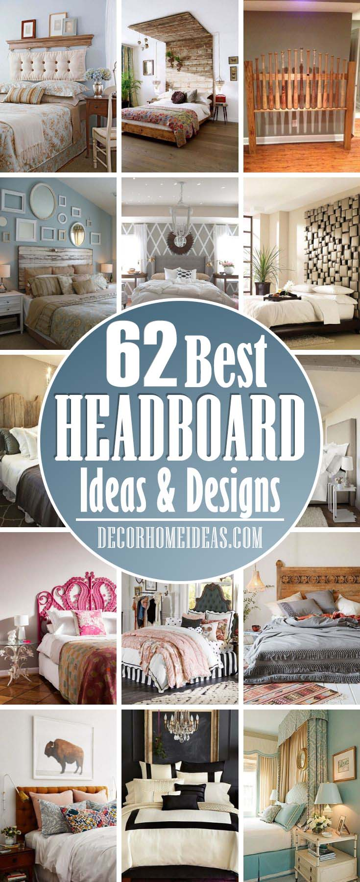 62 Amazing And Cool Headboard Ideas Decor Home Ideas