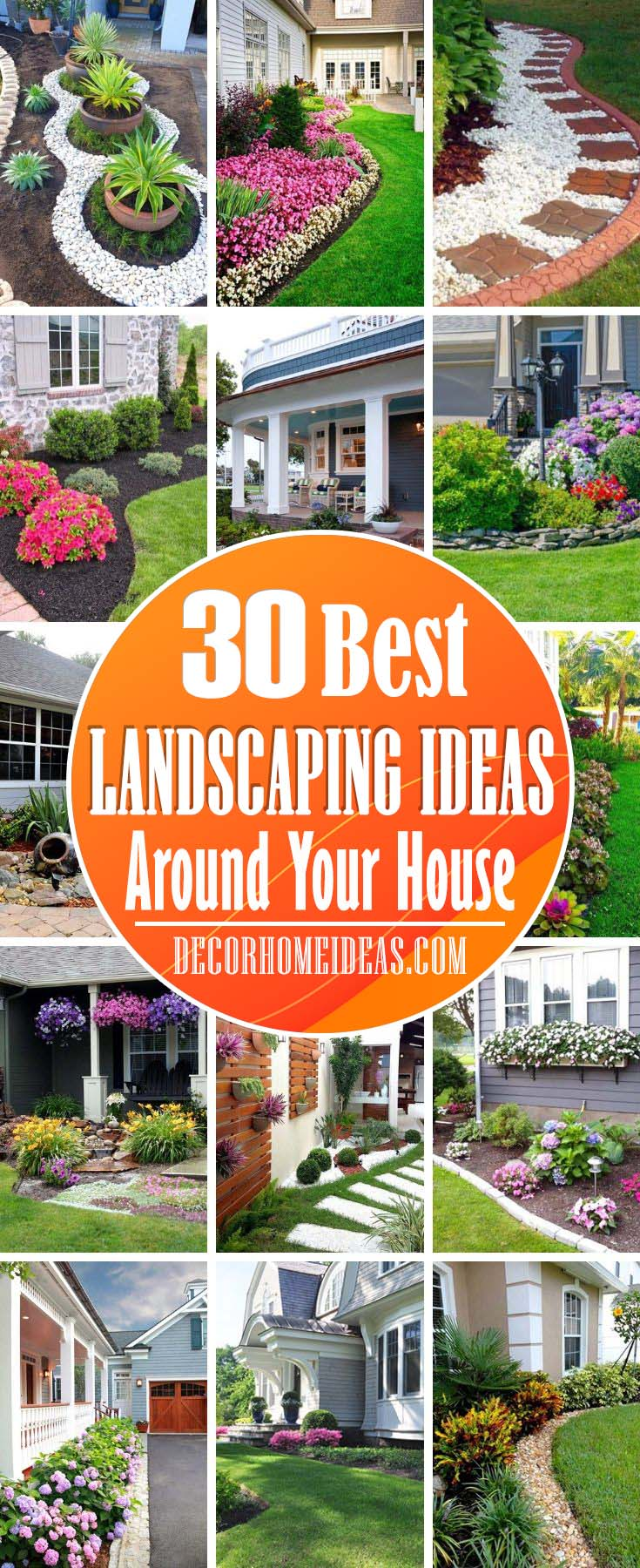 Best Landscaping Ideas Around House. Landscaping ideas and designs for small areas around your house - small garden, backyard or front yard. #landscaping #aroundhouse #diy #decorhomeideas
