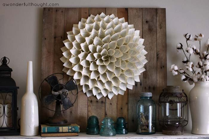 Best Rustic Home Decor Summer Mantle #diy #rustic #summer #decorations #decorhomeideas