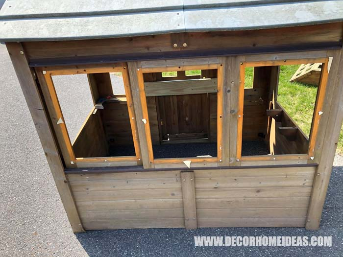Diy Playhouse Farm Styled Before 2
