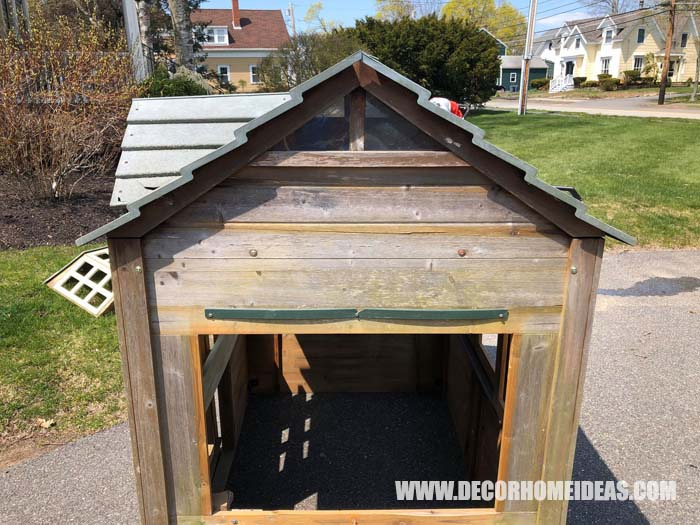 DIY Playhouse Farm Styled Before 5