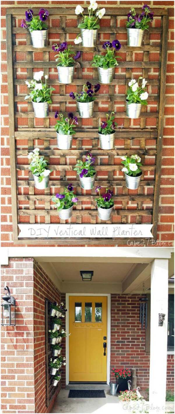 DIY Porch and Patio Decor Ideas with Flowerpots #diy #porch #patio #projects #colorful #decorhomeideas