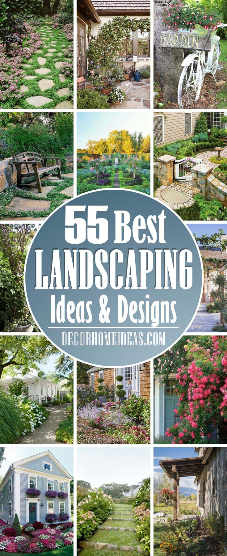 Fresh Front Yard And Backyard Landscaping Ideas. Get some cool ideas to spruce up your garden - arbors, trellis, bench, pathways, pergolas and many more. #garden #backyard #frontyard #diy #decorhomeideas