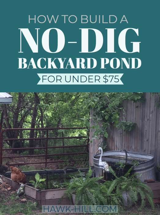 No Dig Garden Pond #pond #diy #garden #waterfeature #decorhomeideas