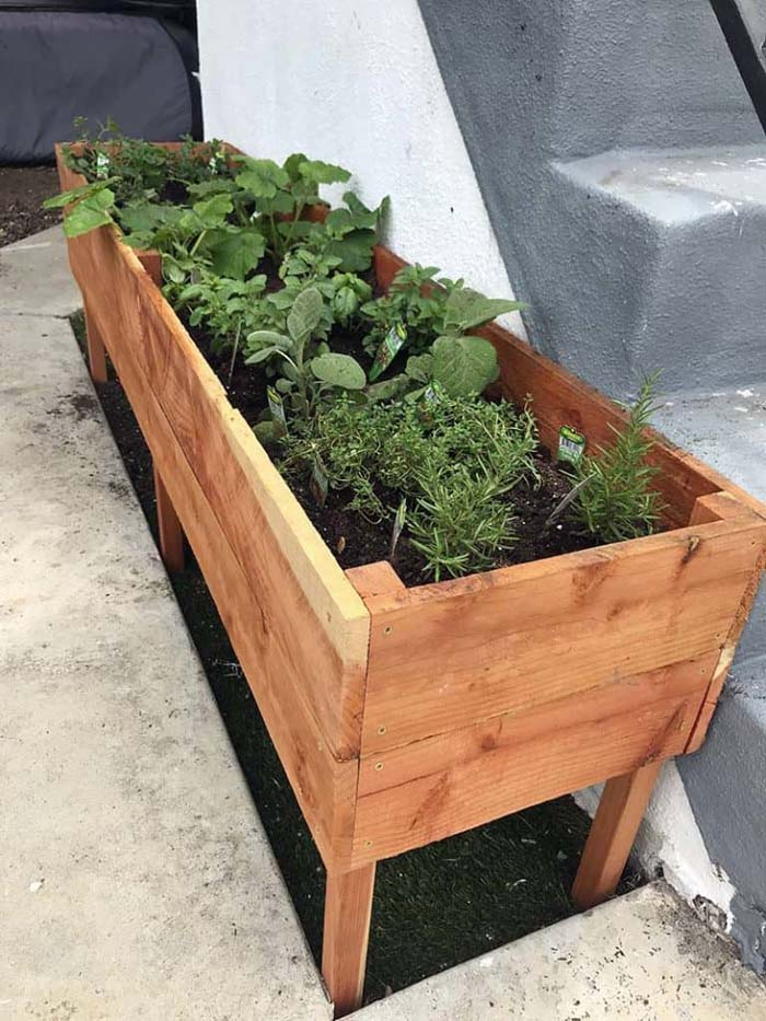 How To Build a Raised Planter Box #raisedbed #garden #diy #cheap #decorhomeideas