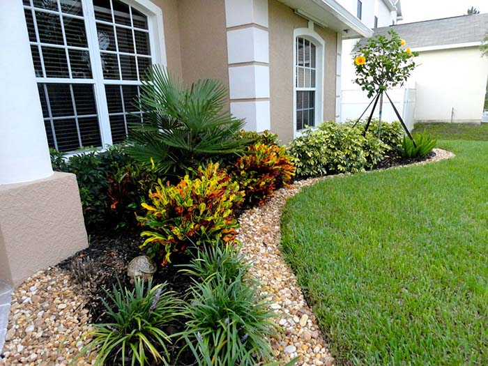 Landscaping Around House With Rocks